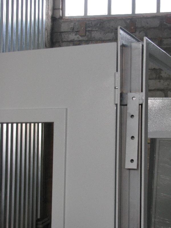 дверь металлическая 1500 2100
